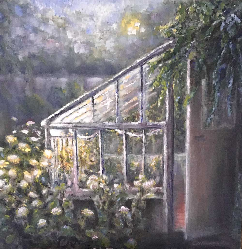 Little greenhouse, The Cotswolds