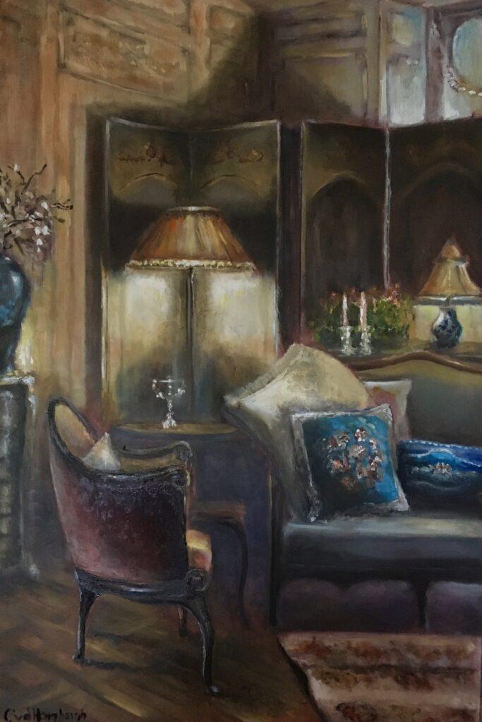 Voltooid schilderij